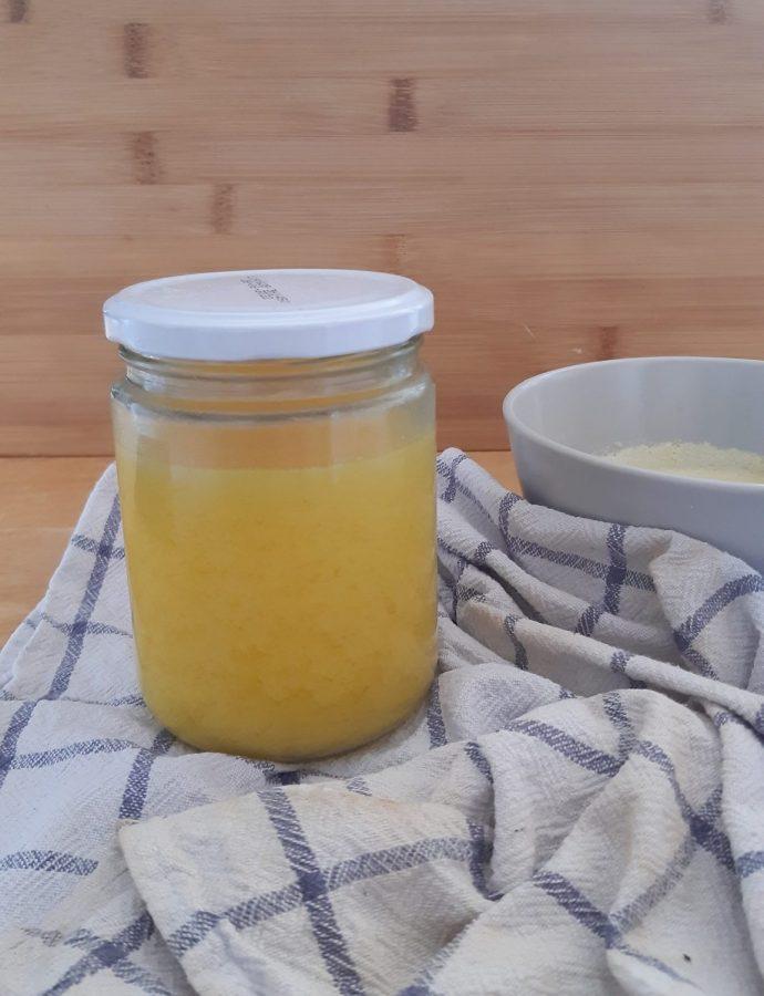 Ghí – přepuštěné máslo