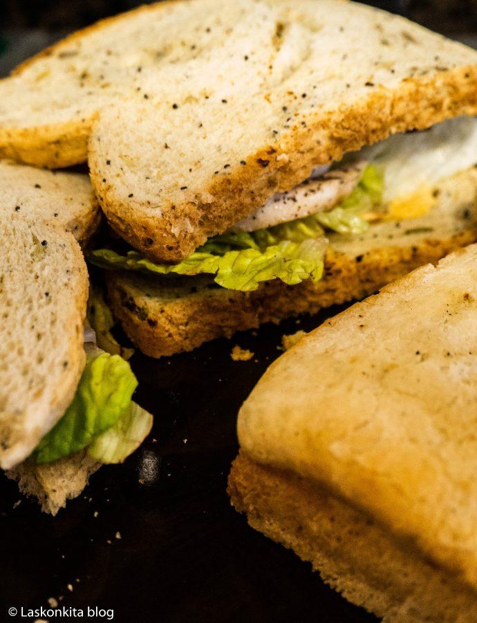 Kuřecí sandwich