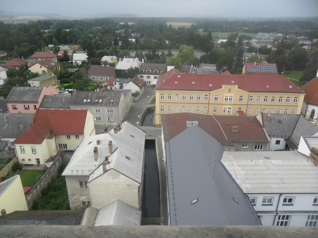 výhled z radniční věže v Litovli