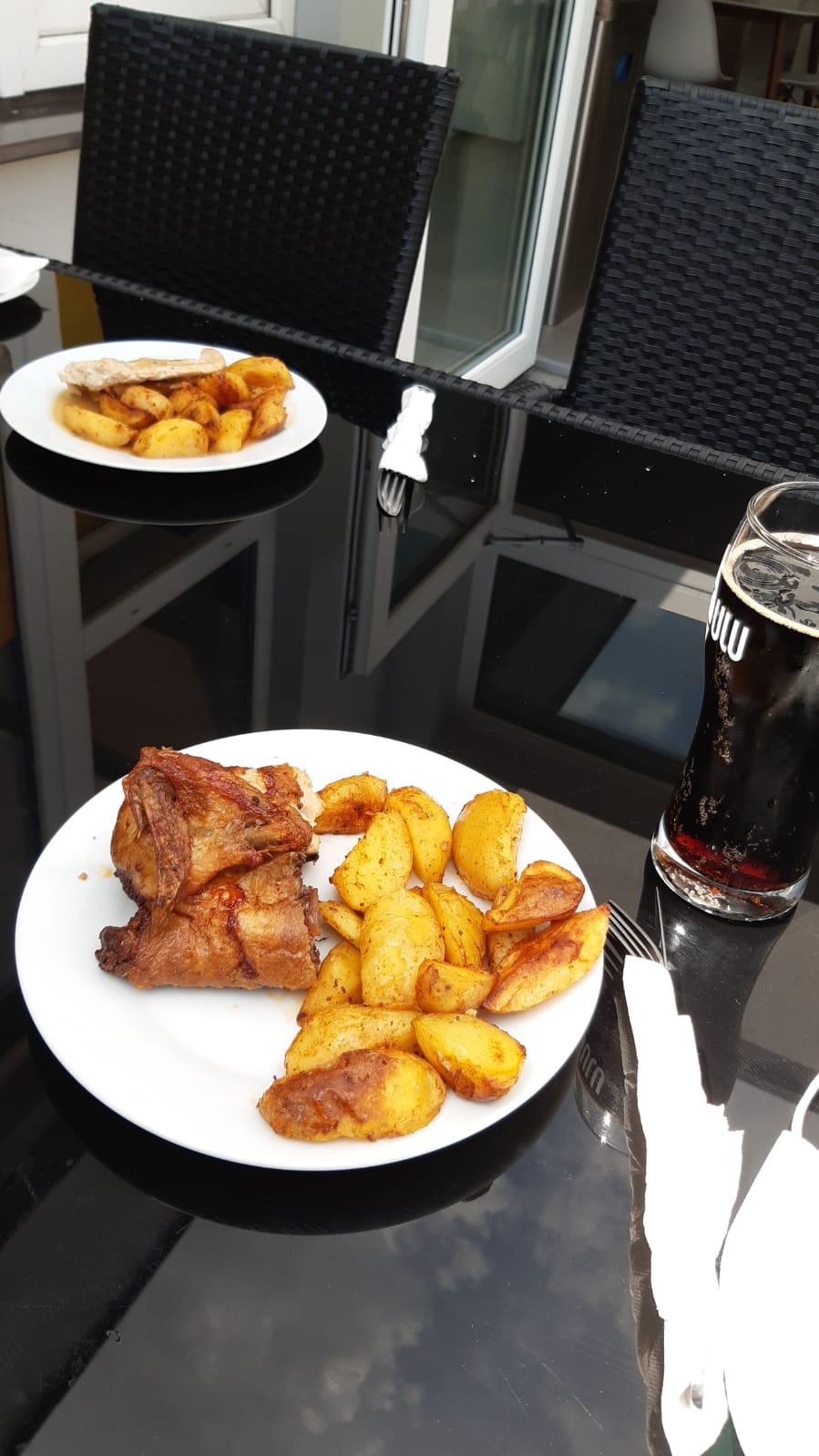 kuře s bramborami