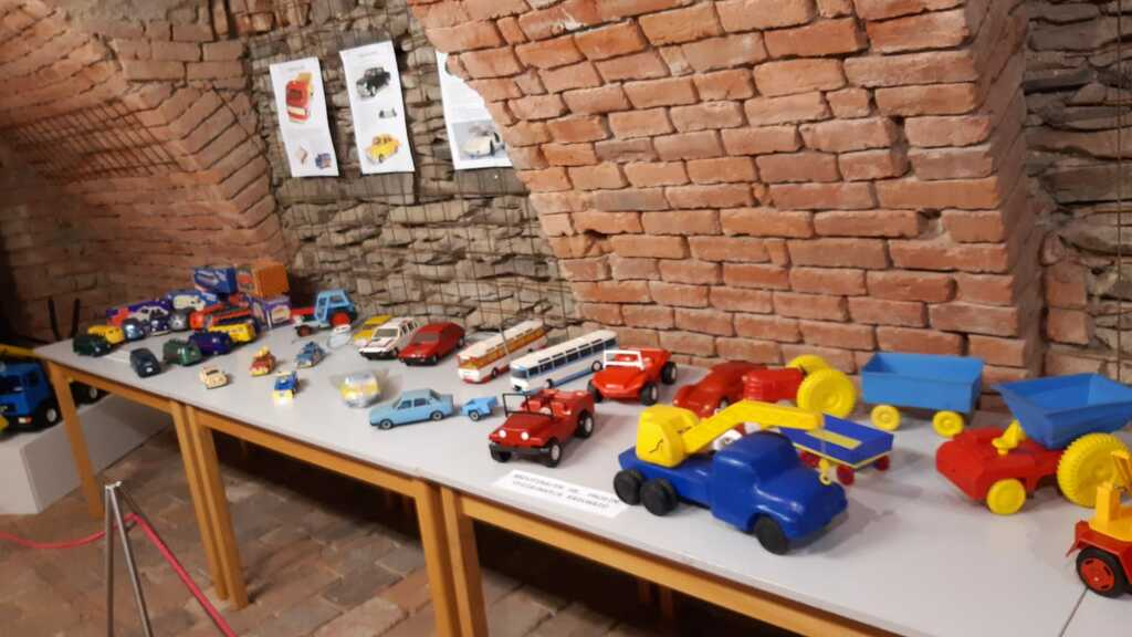 výstava retro hraček