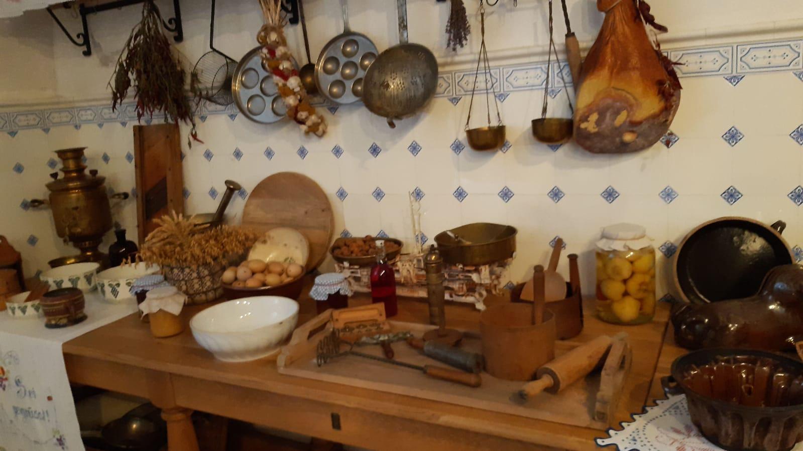 starodávná kuchyně na hradě Šternberk
