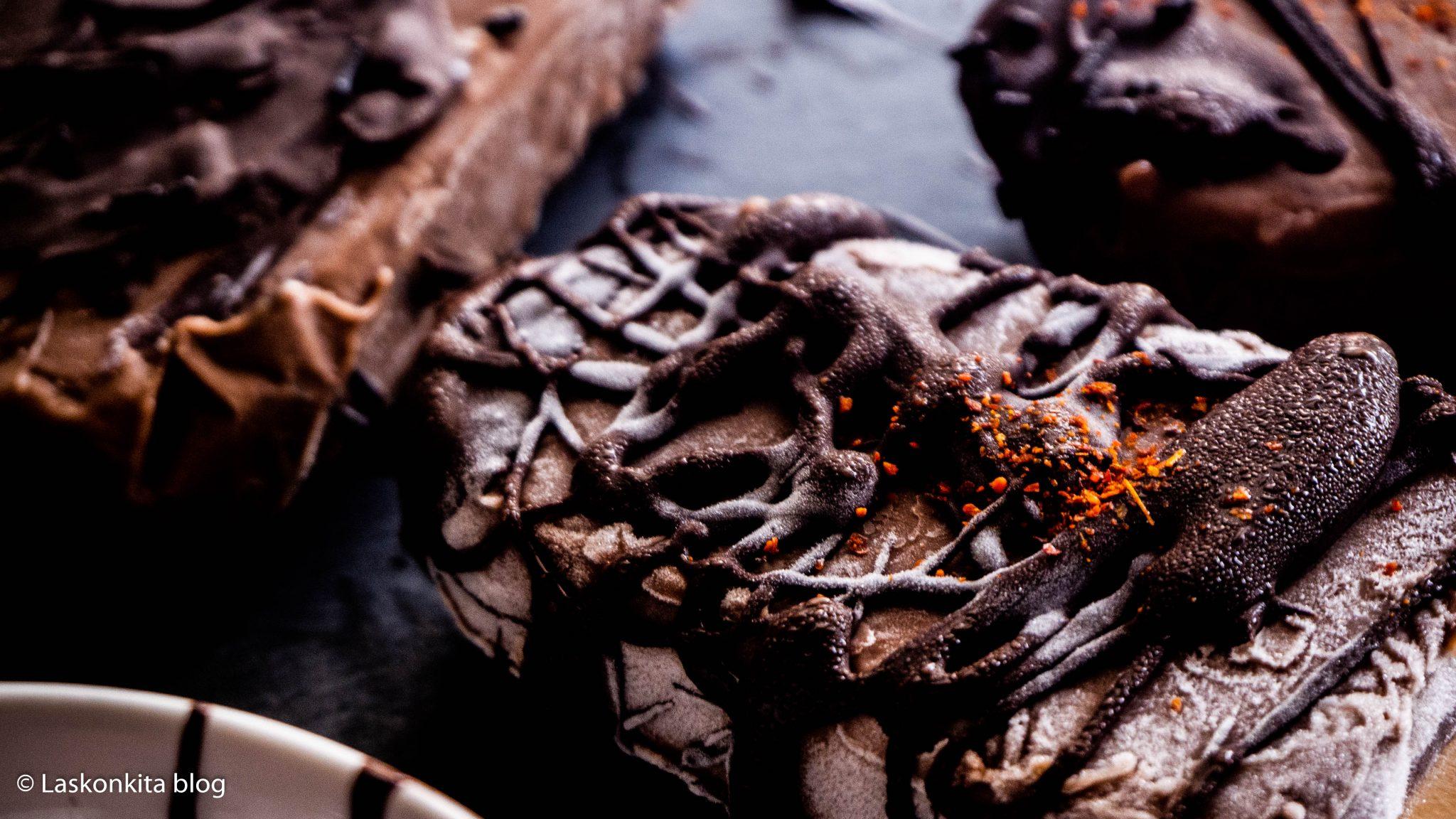 čokoládový vegan nanuk